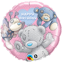 Happy Birthday Blue Nose Friends Balloon Bouquet