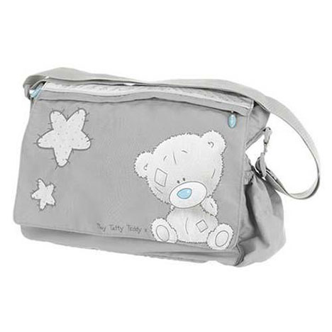 Tiny Tatty Teddy Me to You Bear Changing Bag (Grey) (Grey) £24.99