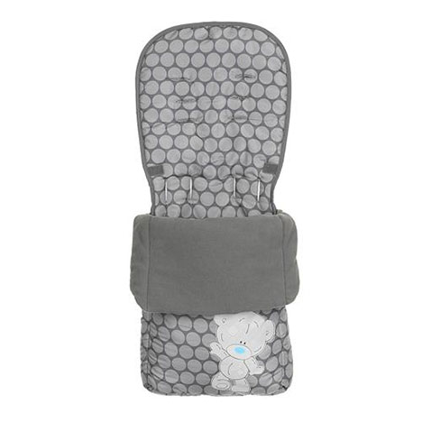 Tiny Tatty Teddy Me to You Bear Grey Footmuff   £19.99
