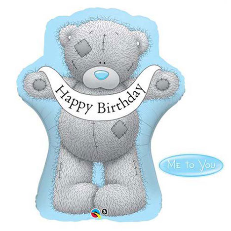 Giant Happy Birthday Tatty Teddy Me to You Balloon (Unfilled)    £6.99