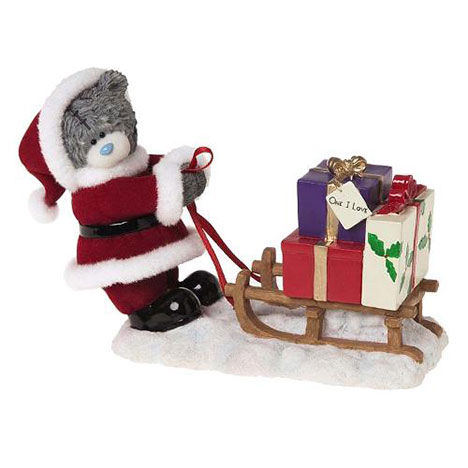 One I Love Me to You Bear Christmas Figurine   £30.00