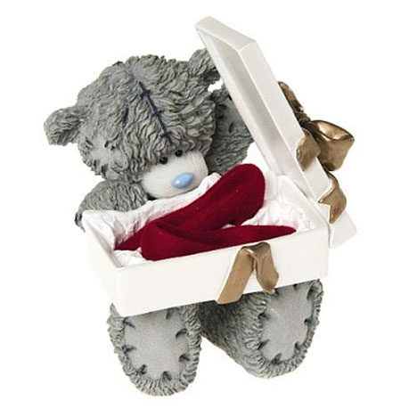 Put On Your Red Shoes Me to You Bear Figurine   £18.50