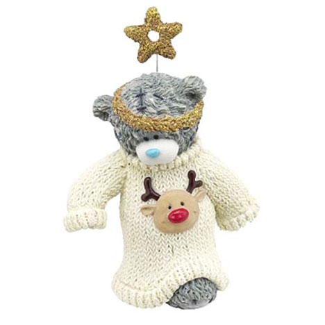 Xmas Jumper Winter Woolies Me to You Bear Figurine   £18.50