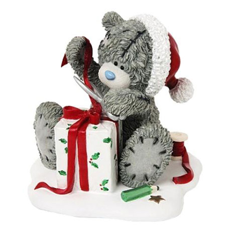 Wrapping Present Me to You Bear Figurine   £18.50