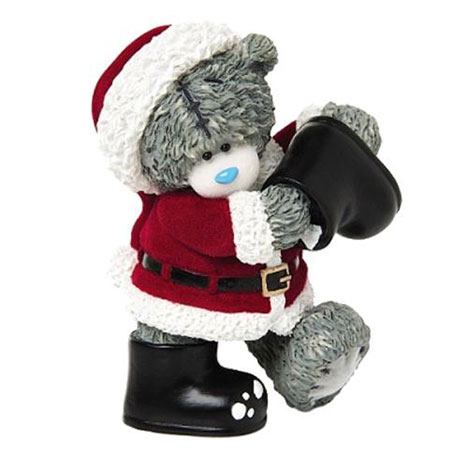 Santa Wellies In From The Cold Me to You Bear Figurine   £18.50