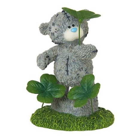 Luck Will Find You Me to You Bear Figurine   £25.00