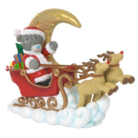 Moonlit Sleigh Ride Me to You Bear Figurine   £60.00