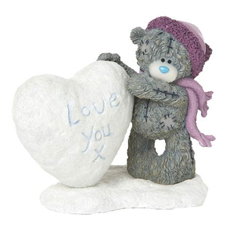 I Love You Snow Much Me to You Bear Figurine   £25.00