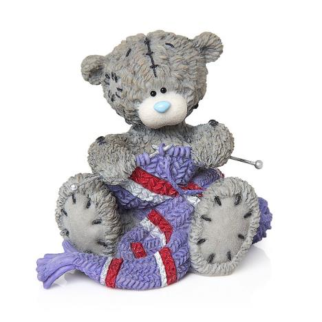 Winter Warmers Me to You Bear Figurine   £18.50