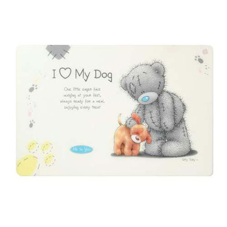 Me to You Bear Dog Feeding Mat   £4.00