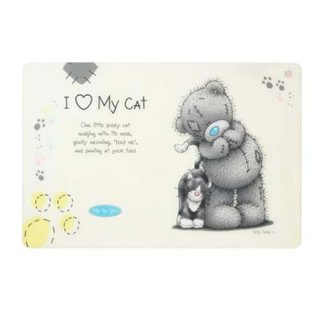 Me to You Bear Cat Feeding Mat   £4.00