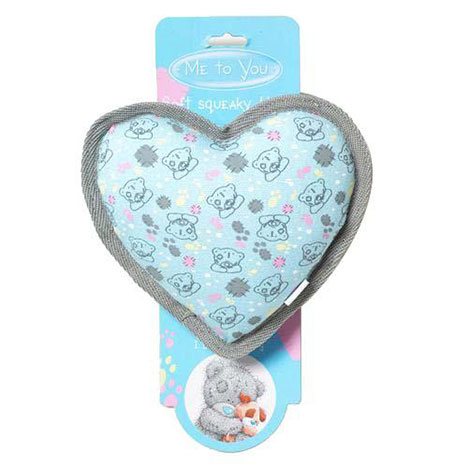 Me to You Bear Soft Squeaky Dog Heart   £5.50