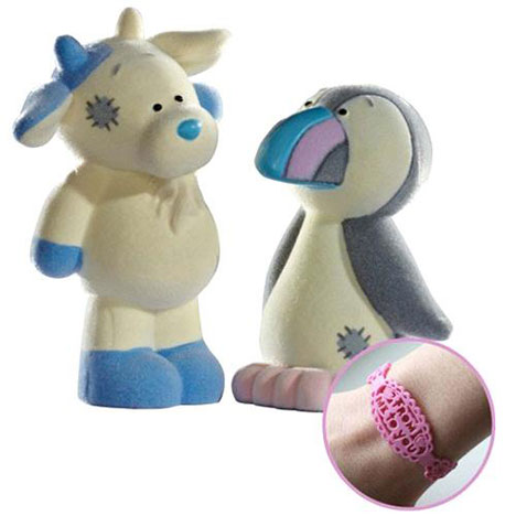 Zee Zee & Rainbow My Blue Nose Friend Double Figurine Pack  £5.99