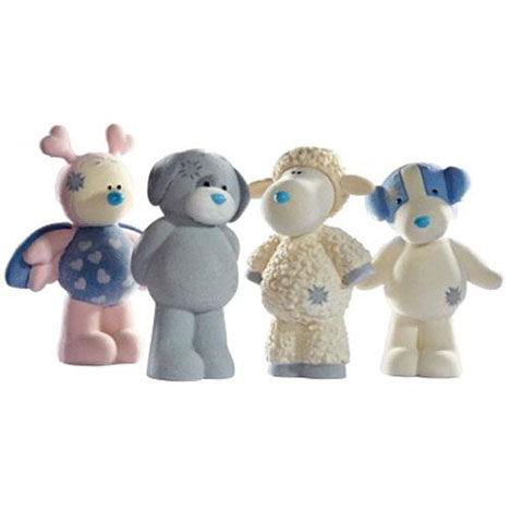 Passion, Cottonsocks, Patch & Chase My Blue Nose Friend Figurine Pack  £9.99