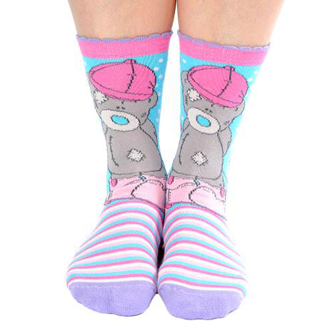 Striped Calf Length Horse Riding Socks Size 12-3  £6.00