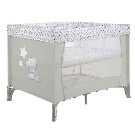 Grey Tiny Tatty Teddy Me to You Bear Bassinette Travel Cot  £89.99