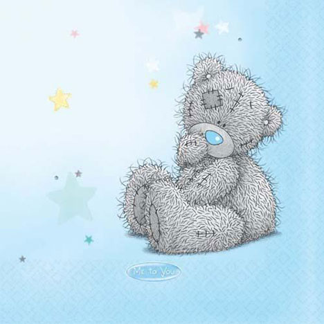 Me to You Bear Party Napkins Pack of 16 Pack of 16 £2.99