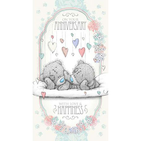 Anniversary Me to You Bear Card  £2.19
