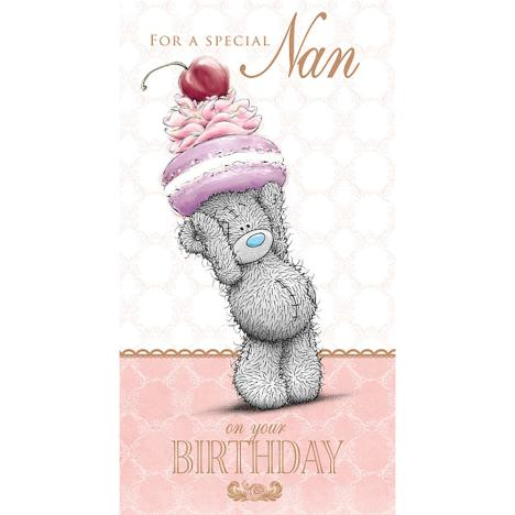 Special Nan Me to You Bear Birthday Card  £2.49