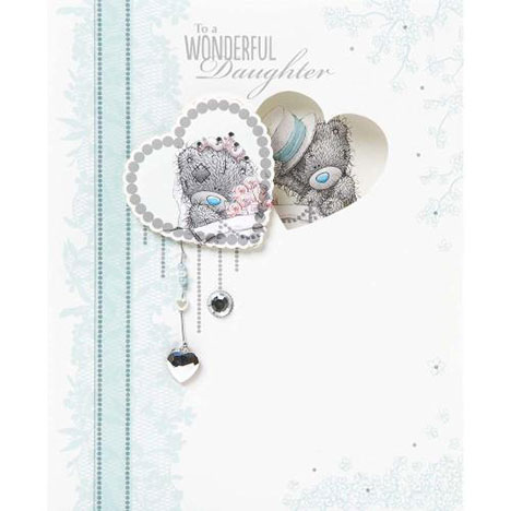 Daughter Wedding Me to You Bear Card  £4.99