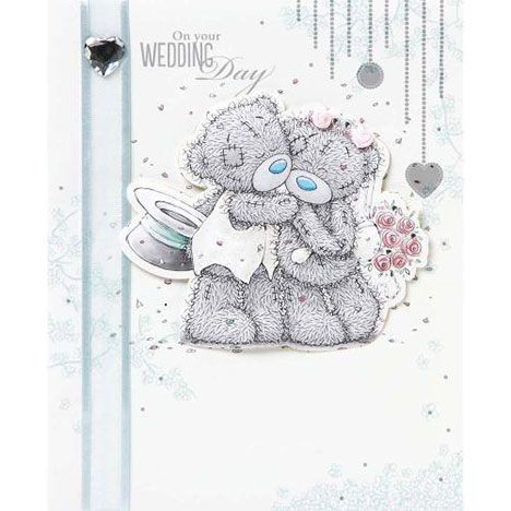 Wedding Day Me to You Bear Card  £4.99
