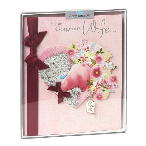 Wife Birthday Me to You Bear Handmade Boxed Card  £5.99