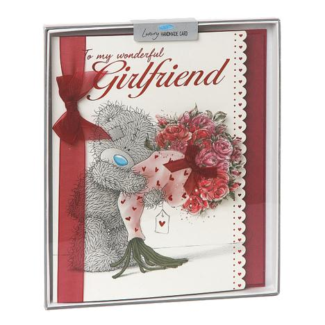 Girlfriend Birthday Me to You Bear Handmade Boxed Card  £5.99