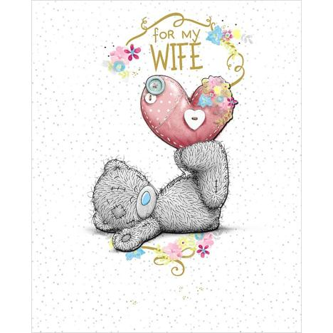 Wife Birthday Me to You Bear Luxury Card  £4.99