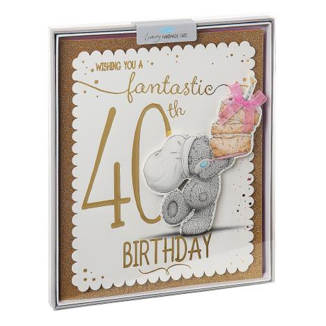 Fantastic 40th Me to You Bear Luxury Boxed Birthday Card  £6.99