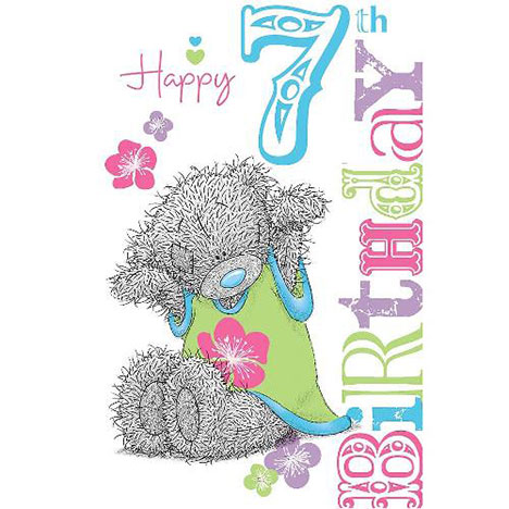 7th Birthday Me to You Bear Card  £1.69
