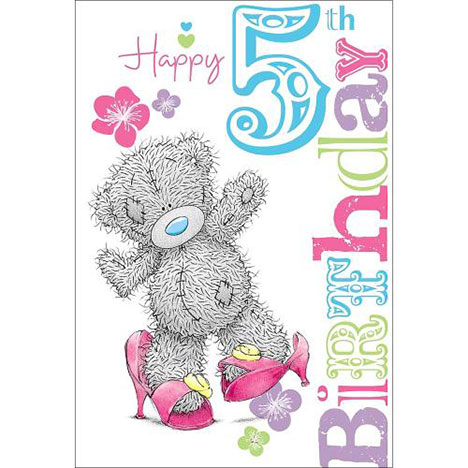 5th Birthday Me to You Bear Card  £1.69