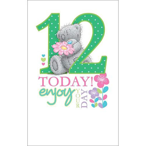 12 Today Me to You Bear Birthday Card   £1.69