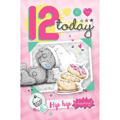 12th Birthday Me to You Bear Card  £1.79
