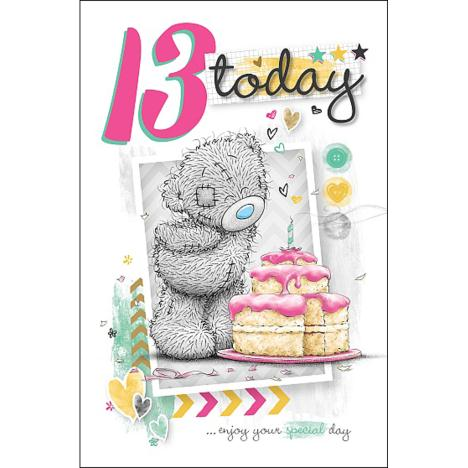 13 Today Me to You Bear Birthday Card  £1.79