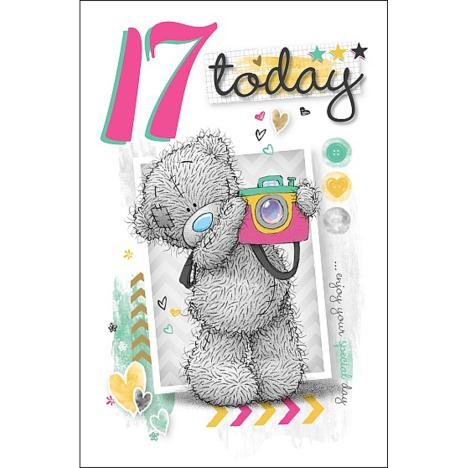 17 Today Me to You Bear Birthday Card  £1.79