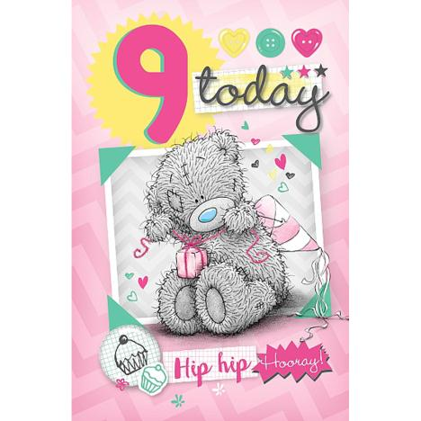 9 Today Me to You Bear Birthday Card  £1.79
