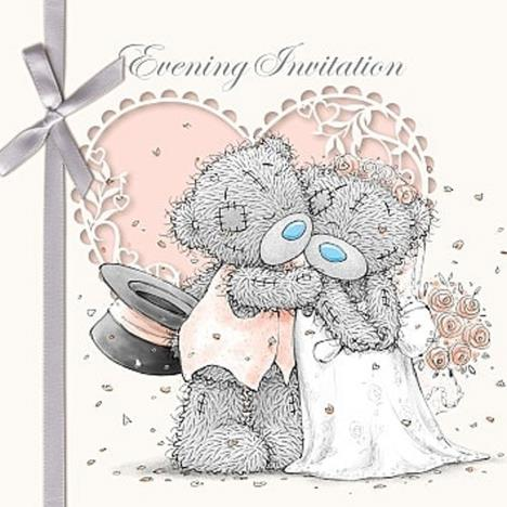 Evening Invitation Me to You Bear Cards (Pack of 6)  £2.99
