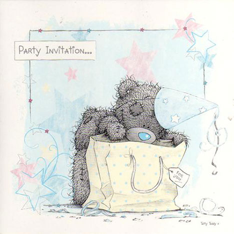 Me to You Bear Party Invitations (Pack of 10) (Pack of 10) £3.99