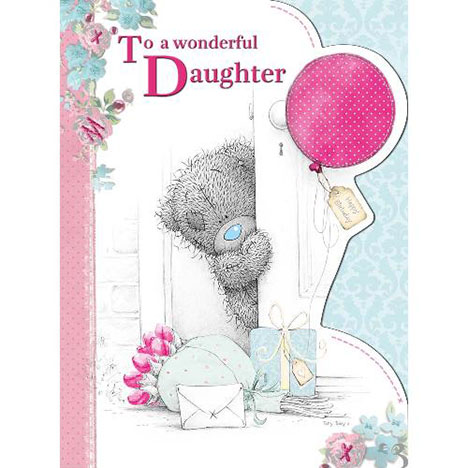 Wonderful Daughter Birthday Me to You Bear Card  £3.45