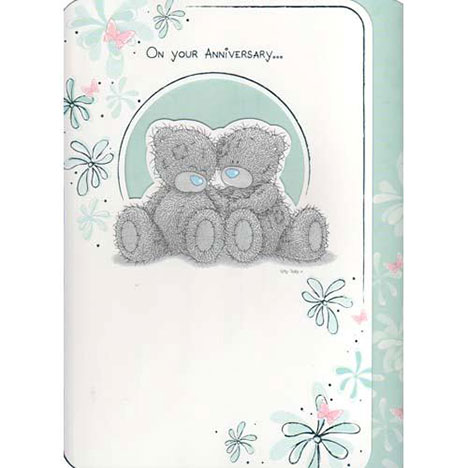 On Your Anniversary Me to You Bear Card  £3.45