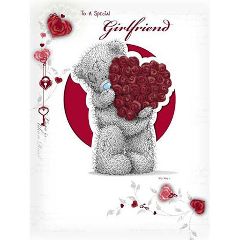 Special Girlfriend Me to You Bear Birthday Card  £3.45
