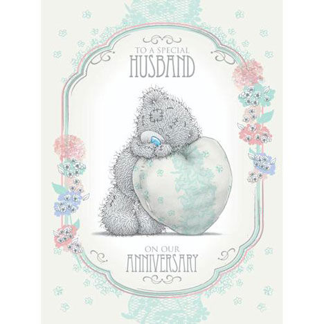 Husband Anniversary Me to You Bear Card   £3.59