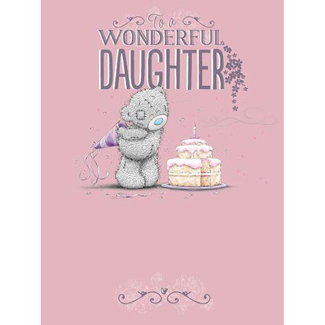 Daughter Birthday Me to You Bear Large Card  £3.59