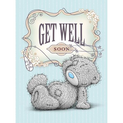 Get Well Soon Large Me to You Bear Card  £3.59