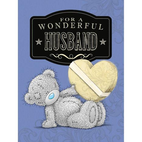Husband Birthday Large Me to You Bear Card  £3.59