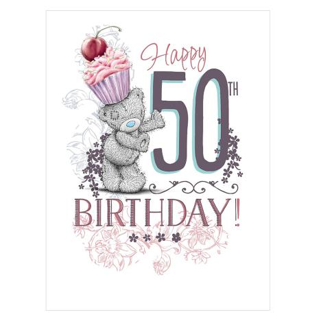 50th Birthday Large Me to You Bear Card  £3.59