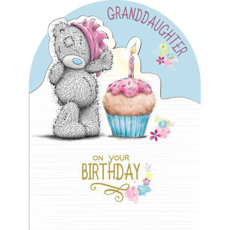 Granddaughter Birthday Large Me to You Bear Card  £3.59