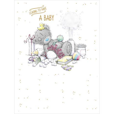 Leaving To Have A Baby Large Me to You Bear Card  £3.59
