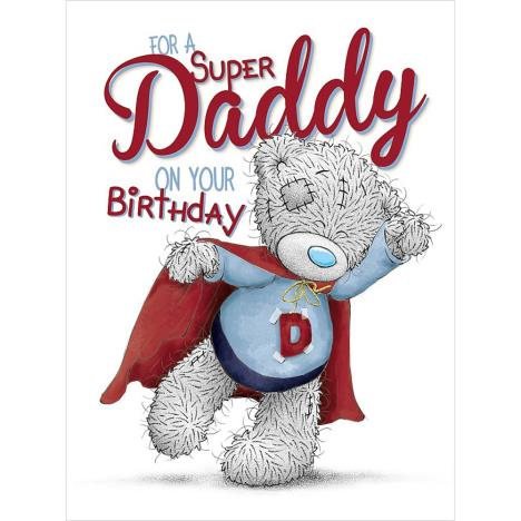 Daddy Birthday Large Me to You Bear Card  £3.59