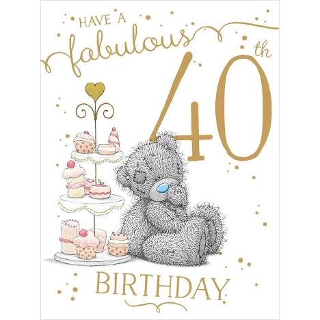 Fabulous 40th Large Me to You Bear Birthday Card  £3.59